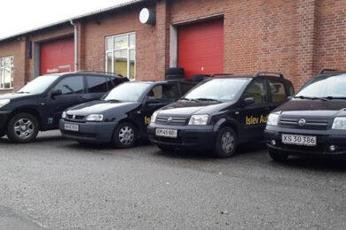 gratis låne bil hos islev autoservice
